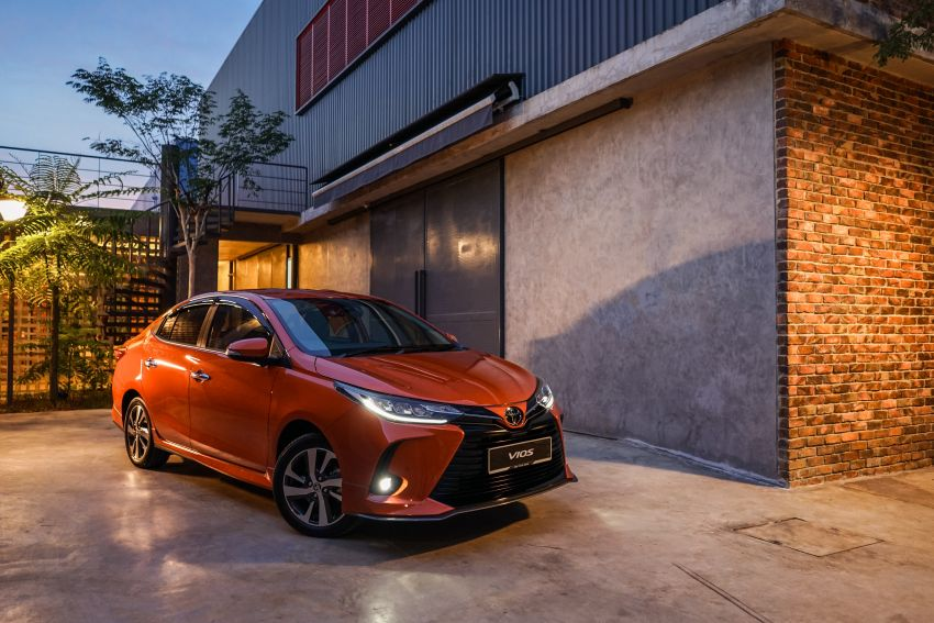2020 Toyota Vios facelift now open for booking – LED headlamps standard; AEB, LDA available; from RM76k Image #1210352
