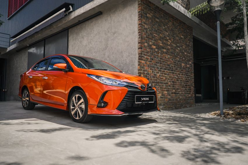 2020 Toyota Vios facelift now open for booking – LED headlamps standard; AEB, LDA available; from RM76k Image #1210334