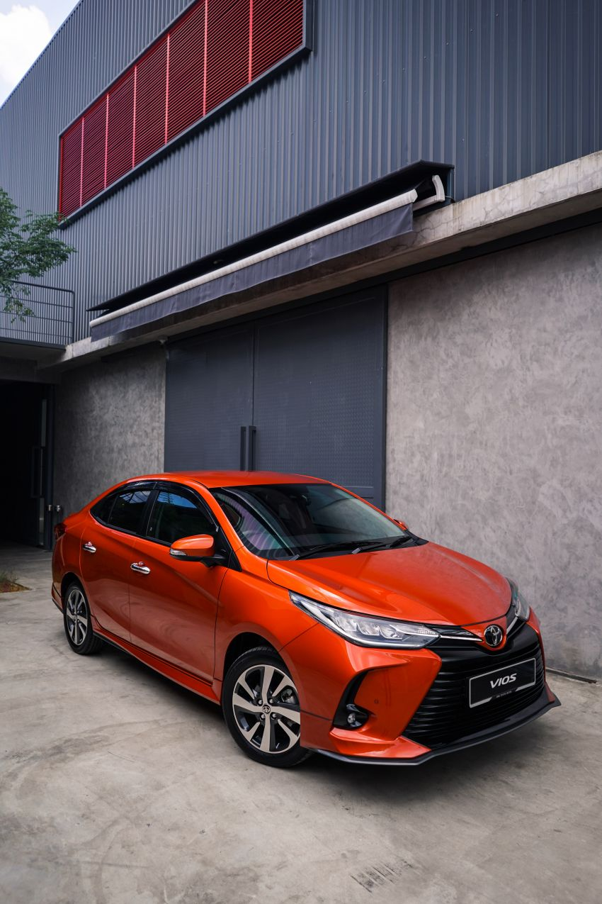 2020 Toyota Vios facelift now open for booking – LED headlamps standard; AEB, LDA available; from RM76k Image #1210337