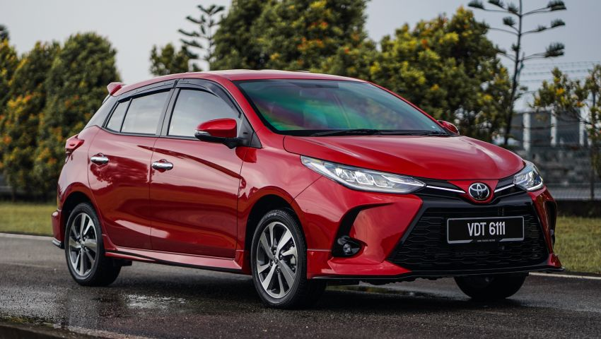 2020 Toyota Yaris facelift open for booking – LED headlamps standard; AEB, LDA available; from RM72k Image #1202197