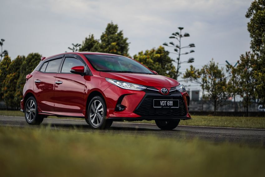 2020 Toyota Yaris facelift open for booking – LED headlamps standard; AEB, LDA available; from RM72k Image #1202198