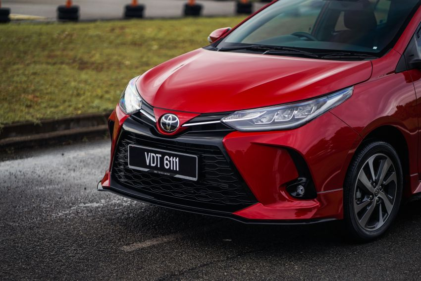 2020 Toyota Yaris facelift open for booking – LED headlamps standard; AEB, LDA available; from RM72k Image #1202199