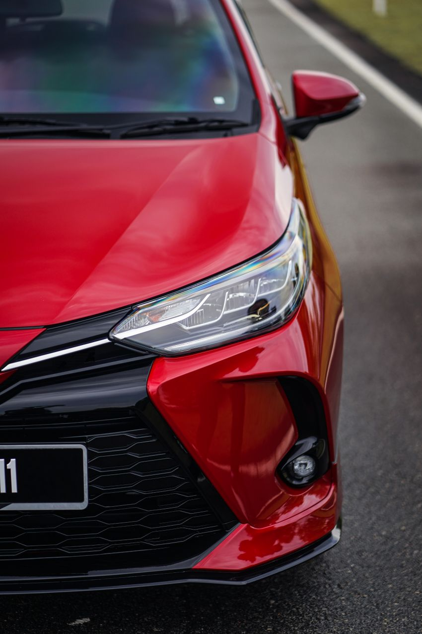 2020 Toyota Yaris facelift open for booking – LED headlamps standard; AEB, LDA available; from RM72k Image #1202200