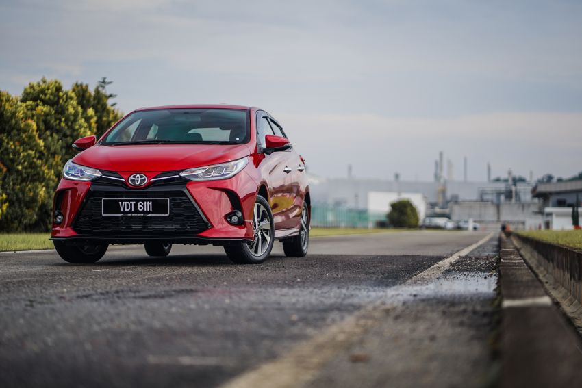 2020 Toyota Yaris facelift open for booking – LED headlamps standard; AEB, LDA available; from RM72k Image #1202202