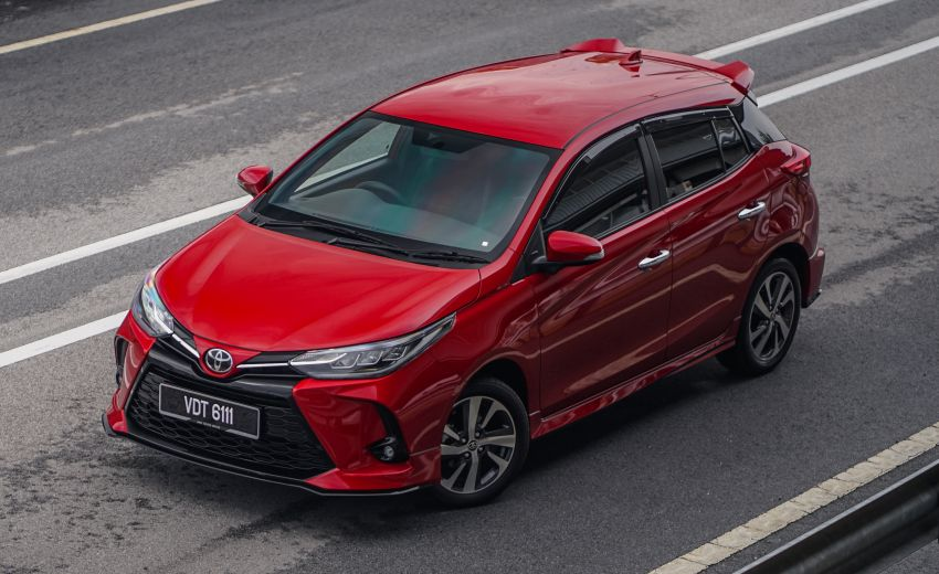2020 Toyota Yaris facelift open for booking – LED headlamps standard; AEB, LDA available; from RM72k Image #1202207