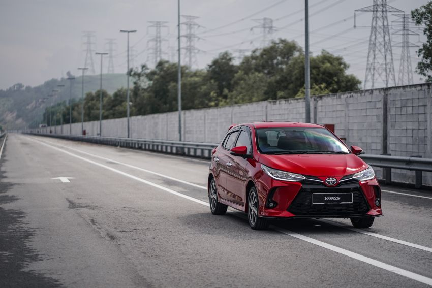 2020 Toyota Yaris facelift open for booking – LED headlamps standard; AEB, LDA available; from RM72k Image #1202209