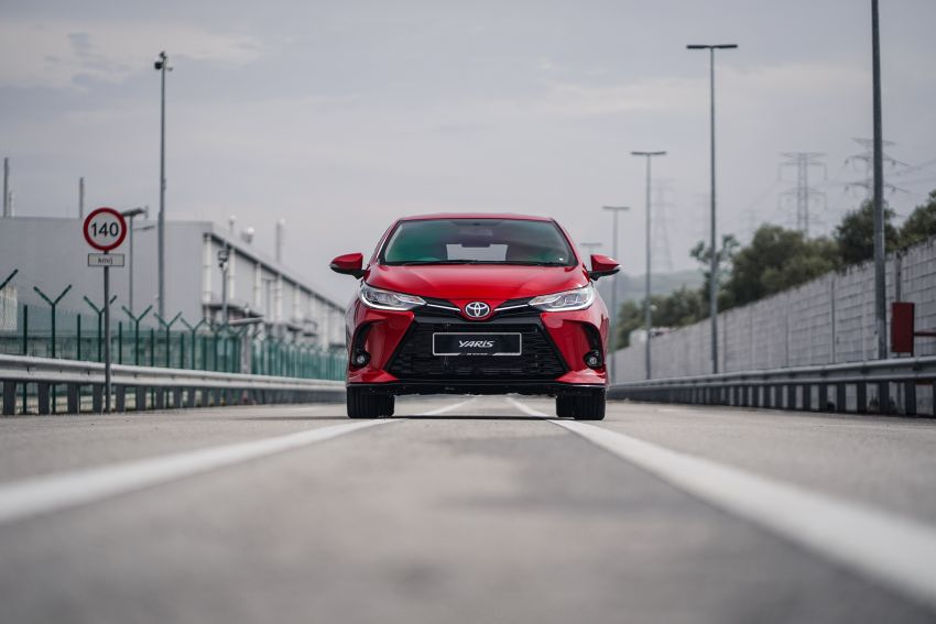 2020 Toyota Yaris facelift open for booking – LED headlamps standard; AEB, LDA available; from RM72k Image #1202210