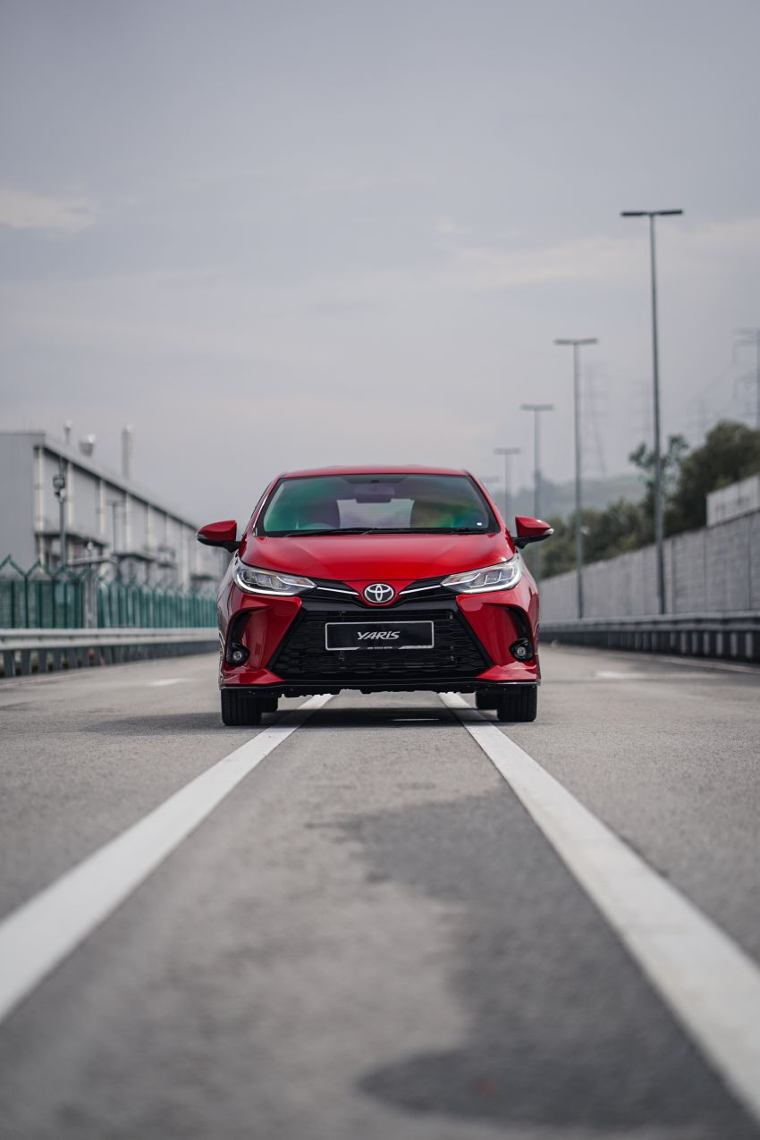 2020 Toyota Yaris facelift open for booking – LED headlamps standard; AEB, LDA available; from RM72k Image #1202211
