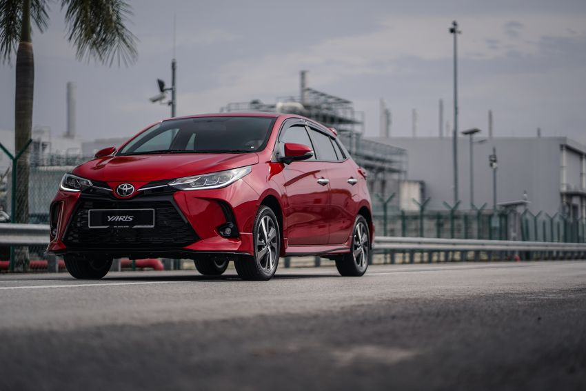 2020 Toyota Yaris facelift open for booking – LED headlamps standard; AEB, LDA available; from RM72k Image #1202212