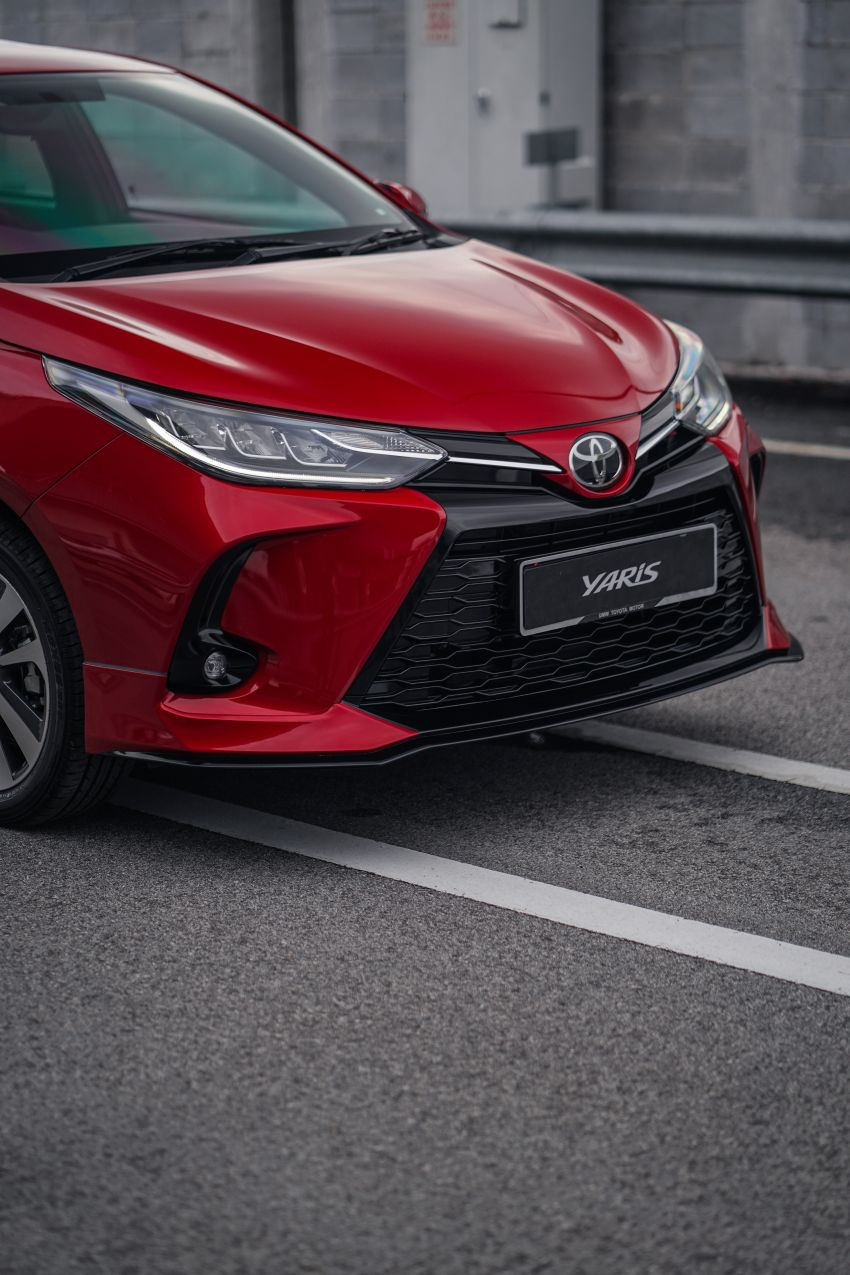 2020 Toyota Yaris facelift open for booking – LED headlamps standard; AEB, LDA available; from RM72k Image #1202213