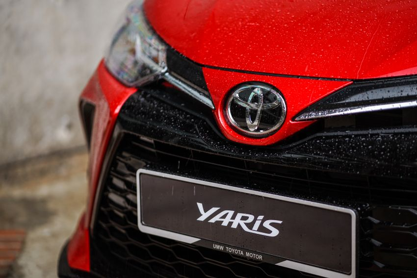 2020 Toyota Yaris facelift open for booking – LED headlamps standard; AEB, LDA available; from RM72k Image #1202189