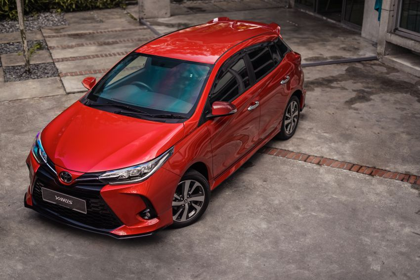 2020 Toyota Yaris facelift open for booking – LED headlamps standard; AEB, LDA available; from RM72k Image #1202218