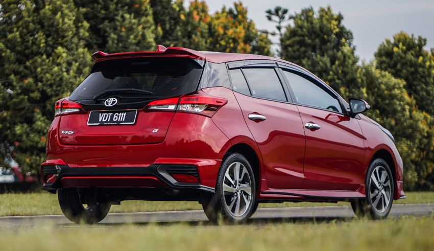 2020 Toyota Yaris facelift open for booking – LED headlamps standard; AEB, LDA available; from RM72k Image #1202195