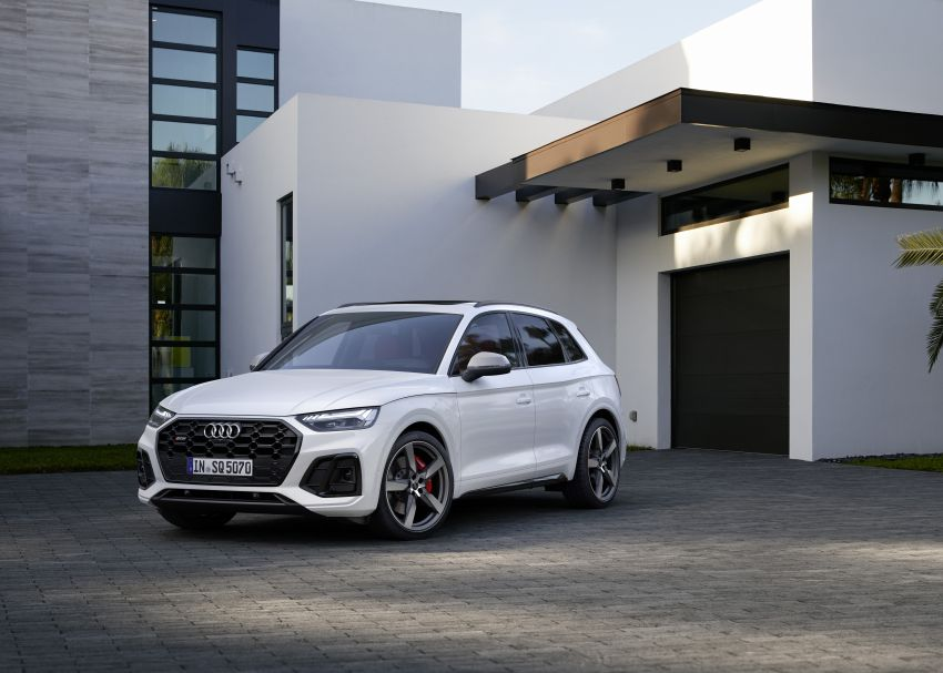 2021 Audi SQ5 TDI facelift revealed – upgraded engine Image #1209590