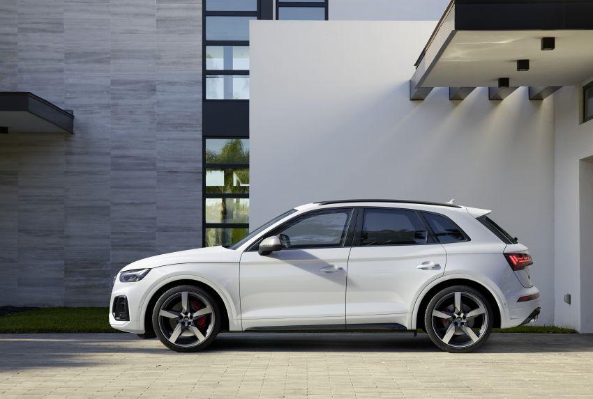 2021 Audi SQ5 TDI facelift revealed – upgraded engine Image #1209599