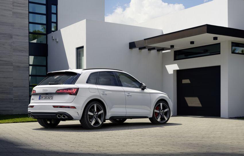 2021 Audi SQ5 TDI facelift revealed – upgraded engine Image #1209601