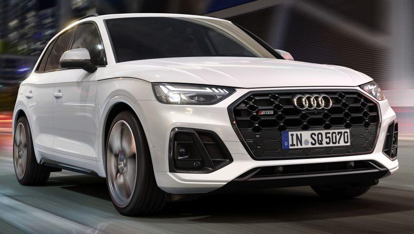 2021 Audi SQ5 TDI facelift revealed – upgraded engine Image #1209592