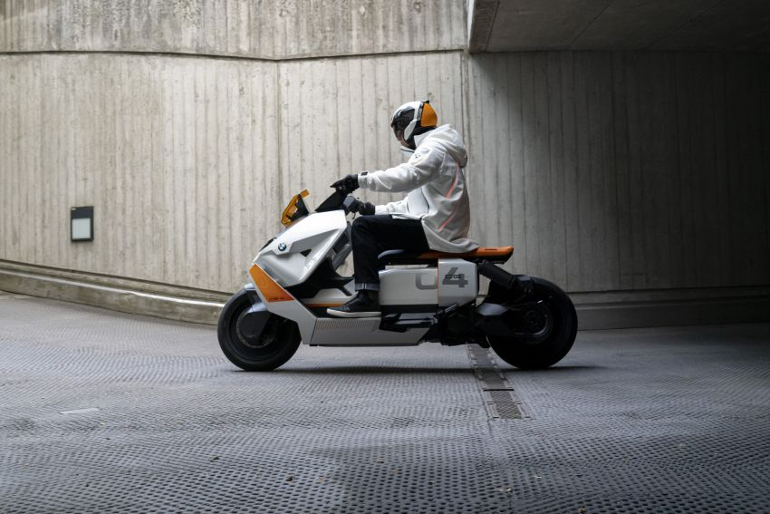 BMW Motorrad introduces Definition CE 04 e-scooter Image #1208044