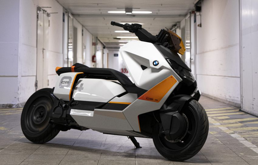 BMW Motorrad introduces Definition CE 04 e-scooter Image #1208045