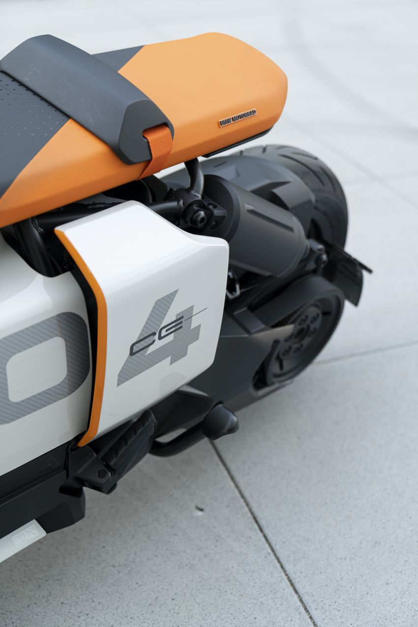 BMW Motorrad introduces Definition CE 04 e-scooter Image #1208036