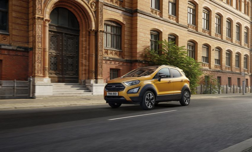 2021 Ford EcoSport Active, the rugged version debuts Image #1205735