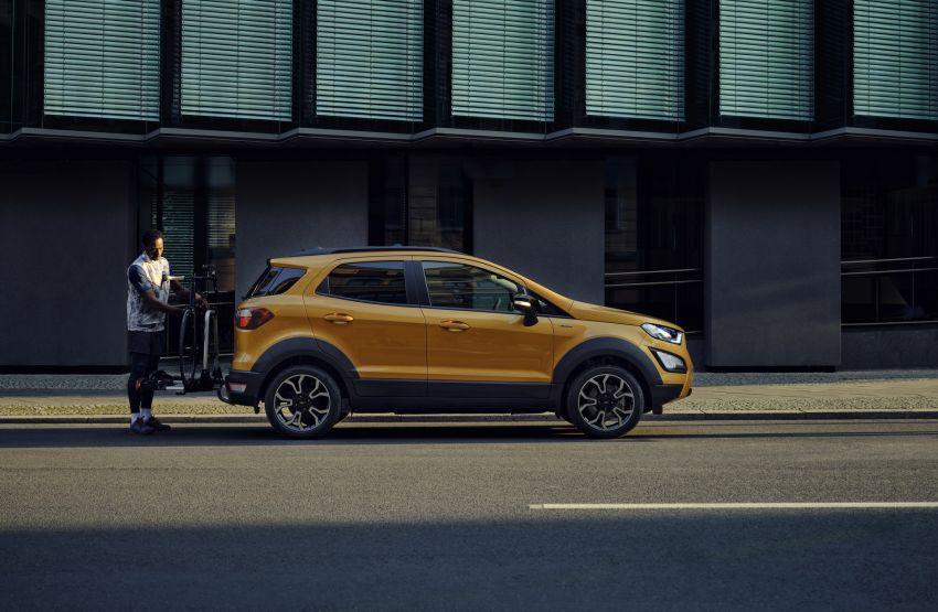 2021 Ford EcoSport Active, the rugged version debuts Image #1205728