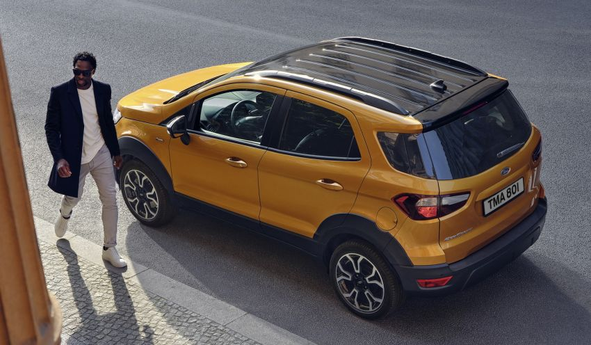 2021 Ford EcoSport Active, the rugged version debuts Image #1205729
