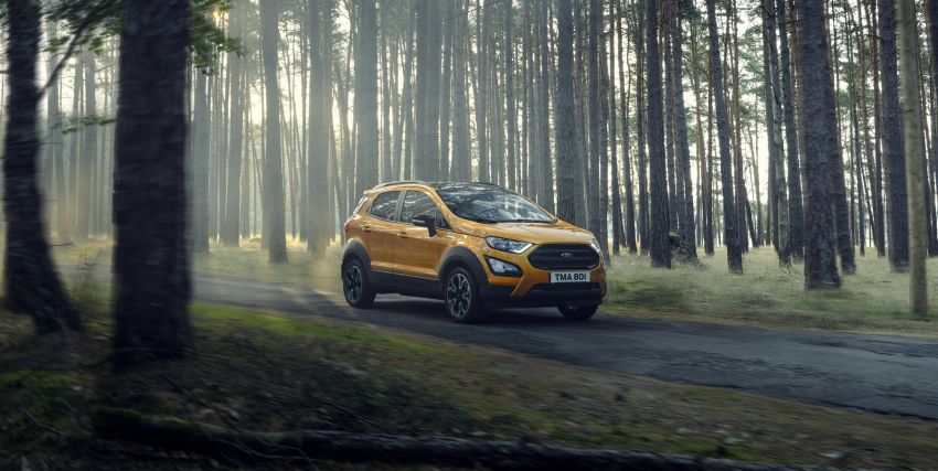 2021 Ford EcoSport Active, the rugged version debuts Image #1205732