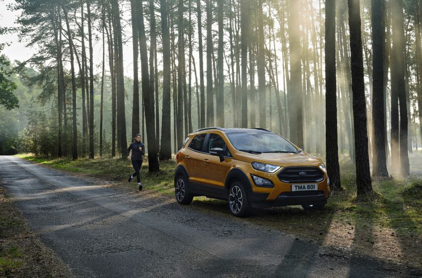 2021 Ford EcoSport Active, the rugged version debuts Image #1205733