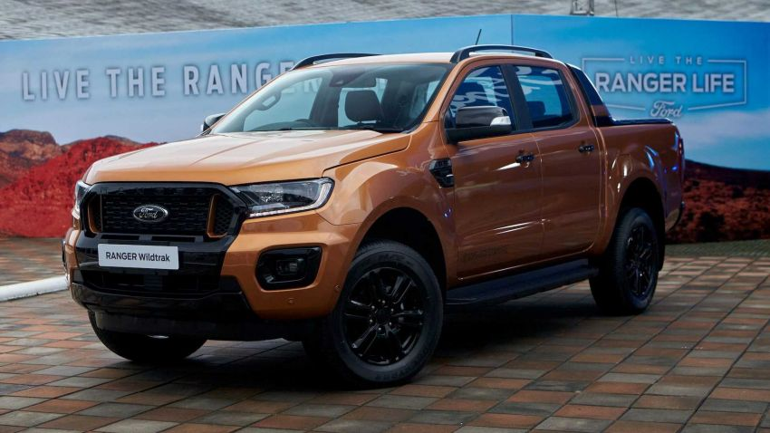 2021 Ford Ranger – T6 gets another facelift in Thailand Image #1204031