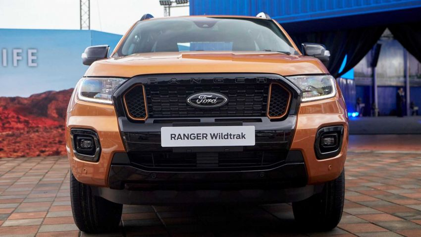 2021 Ford Ranger – T6 gets another facelift in Thailand Image #1204034