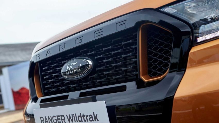2021 Ford Ranger – T6 gets another facelift in Thailand Image #1204038