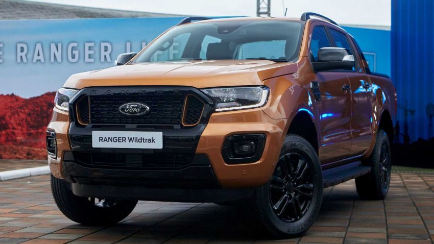 2021 Ford Ranger – T6 gets another facelift in Thailand Image #1204041