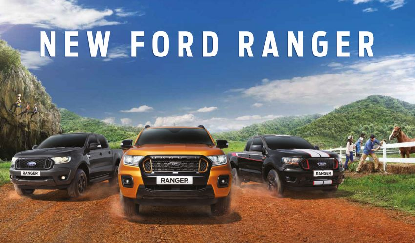2021 Ford Ranger – T6 gets another facelift in Thailand Image #1204196