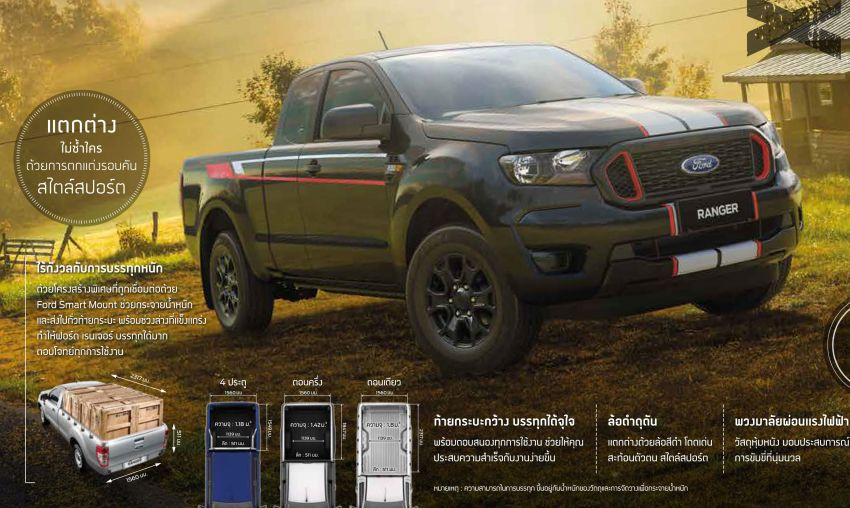 2021 Ford Ranger – T6 gets another facelift in Thailand Image #1204197