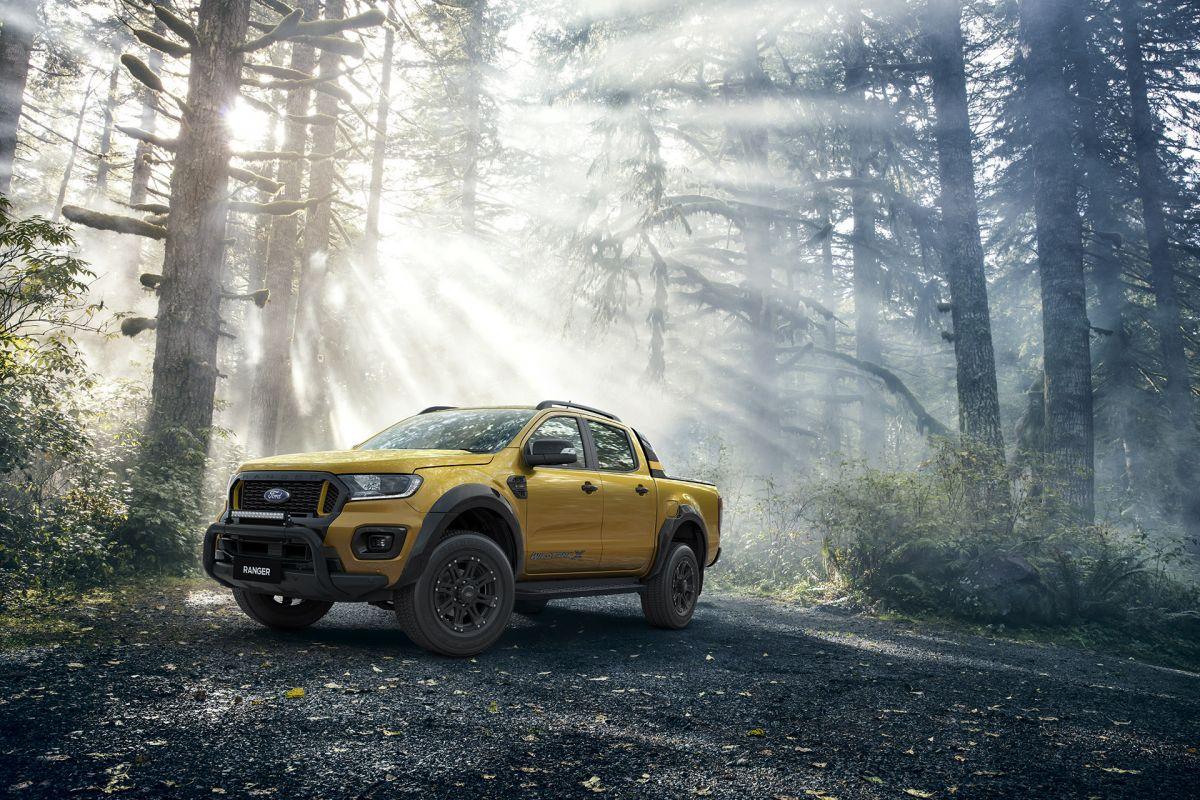 2021 ford ranger wildtrak x gets rugged accessories 2021