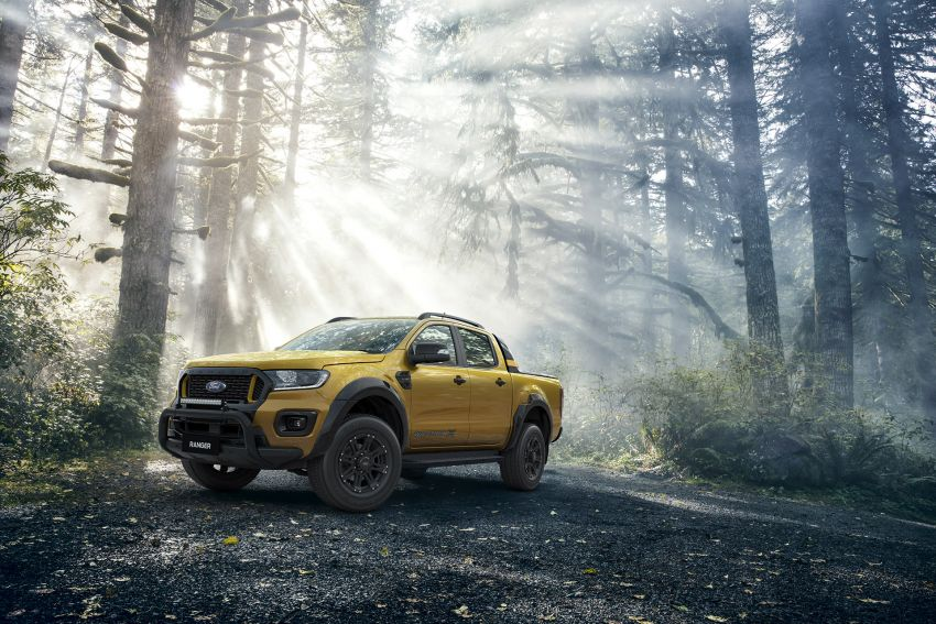 2021 Ford Ranger Wildtrak X gets rugged accessories Image #1216980