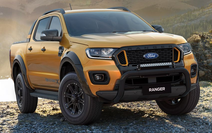 2021 Ford Ranger Wildtrak X gets rugged accessories Image #1216970