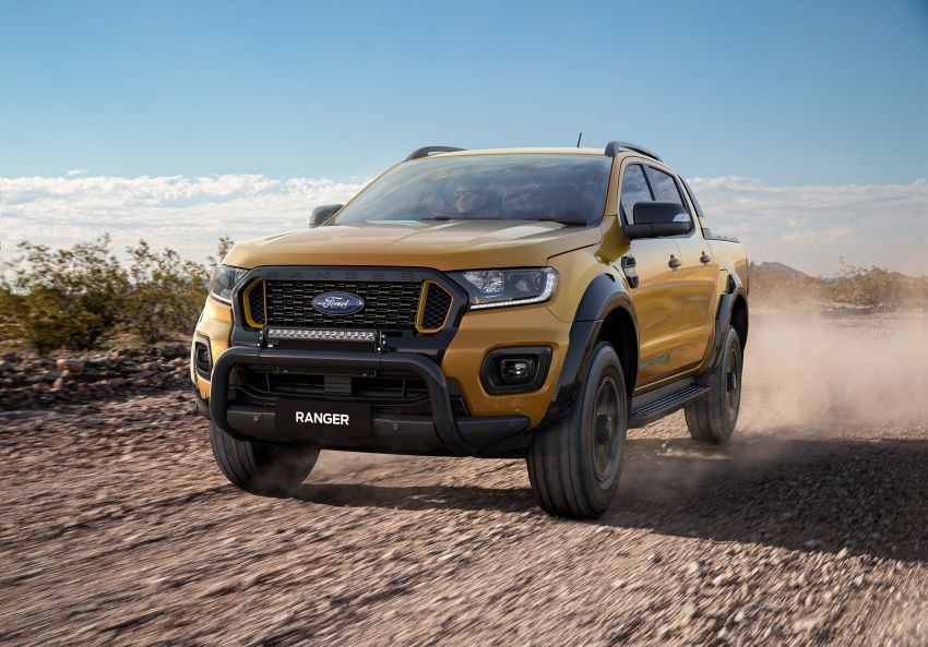 2021 Ford Ranger Wildtrak X gets rugged accessories Image #1216971