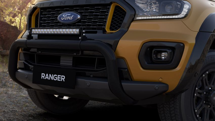 2021 Ford Ranger Wildtrak X gets rugged accessories Image #1216974