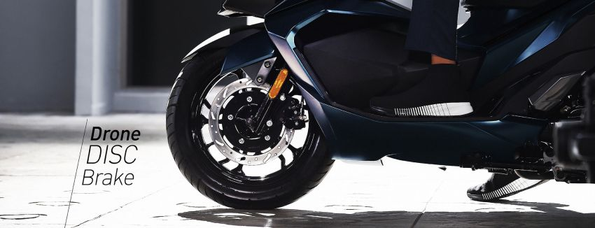 2021 GPX Drone 150 scooter launched in Thailand Image #1214560
