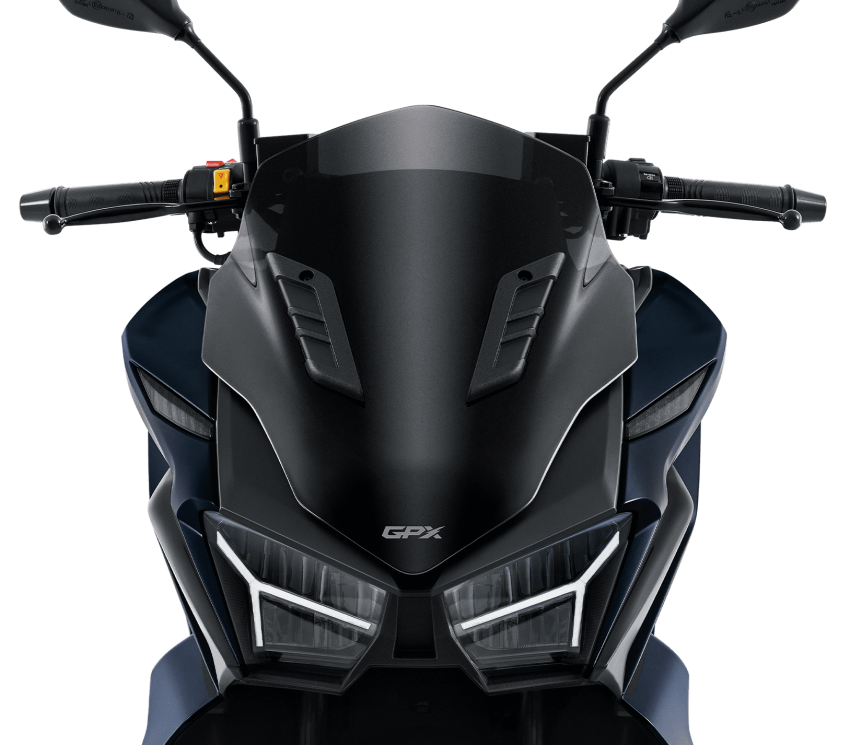 2021 GPX Drone 150 scooter launched in Thailand Image #1214588