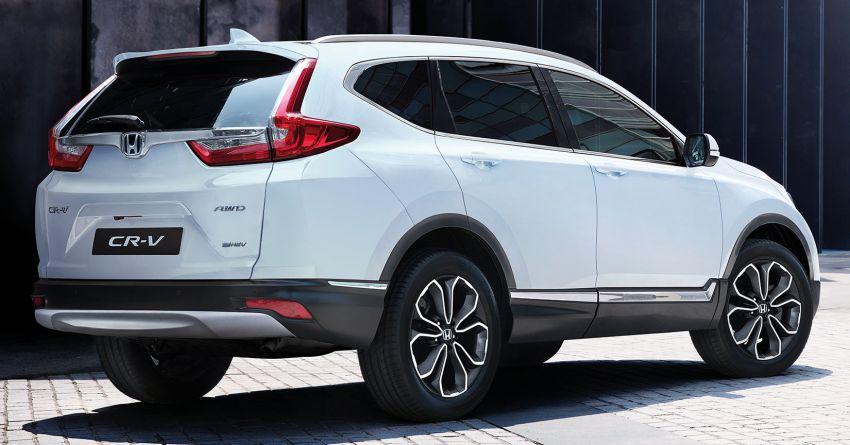2021 Honda CR-V Hybrid updated for UK market – blue-ringed H badges, e:HEV moniker, improved kit Image #1218567
