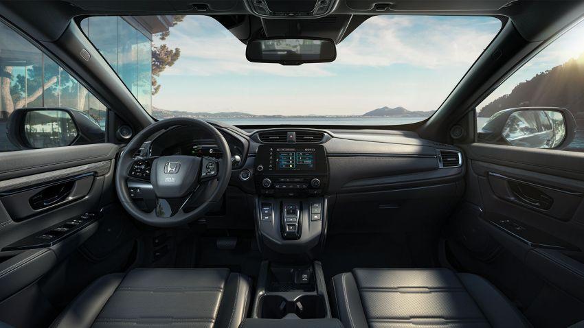 2021 Honda CR-V Hybrid updated for UK market – blue-ringed H badges, e:HEV moniker, improved kit Image #1218563