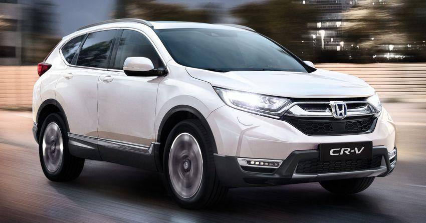 2021 Honda CR-V Hybrid updated for UK market – blue-ringed H badges, e:HEV moniker, improved kit Image #1218564