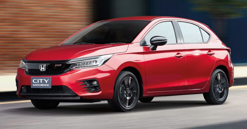 2021 Honda City Hatchback makes world debut in Thailand – Ultra Seats; 1.0L VTEC Turbo; from RM81k Image #1215749
