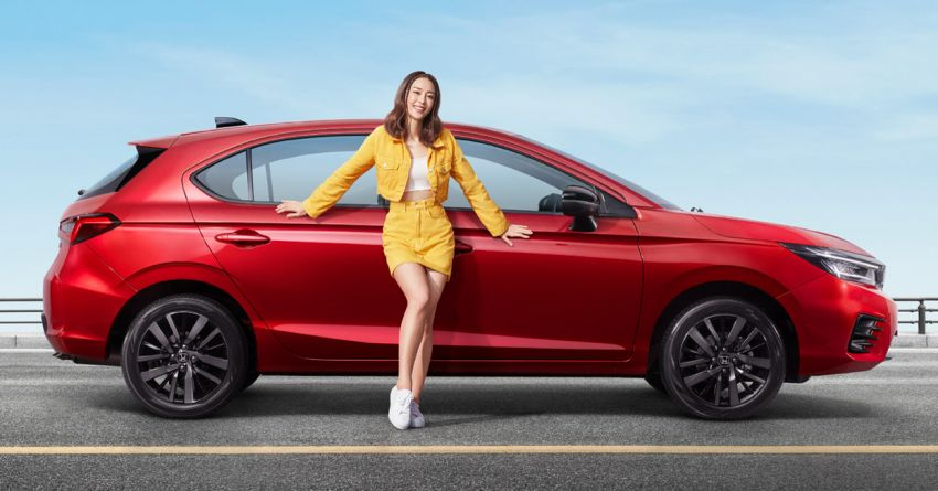 2021 Honda City Hatchback makes world debut in Thailand – Ultra Seats; 1.0L VTEC Turbo; from RM81k Image #1215758
