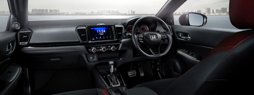 2021 Honda City Hatchback makes world debut in Thailand – Ultra Seats; 1.0L VTEC Turbo; from RM81k Image #1215759