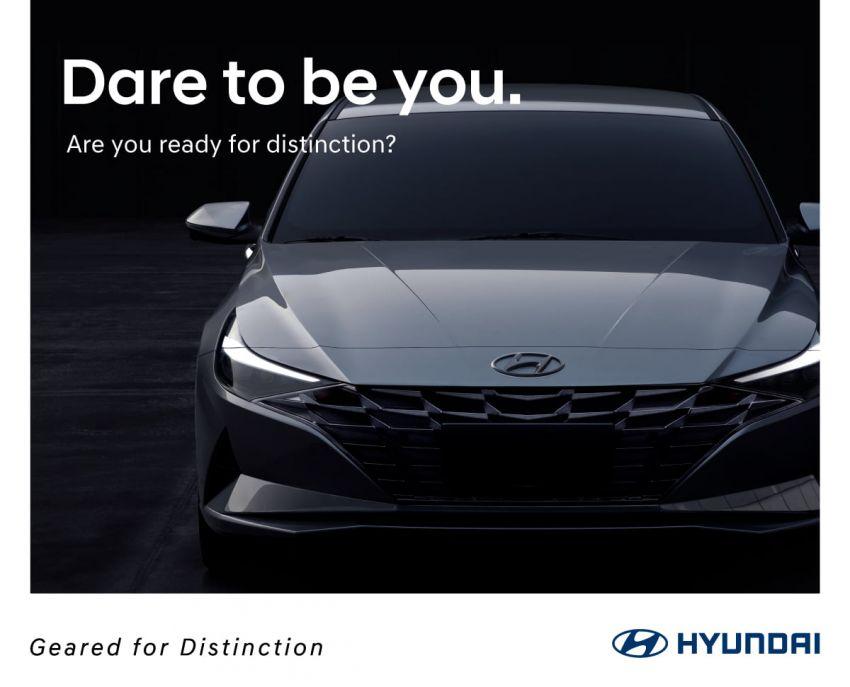 2021 Hyundai Elantra teased on Hyundai Malaysia Facebook – new C-segment sedan launching soon? Image #1215331