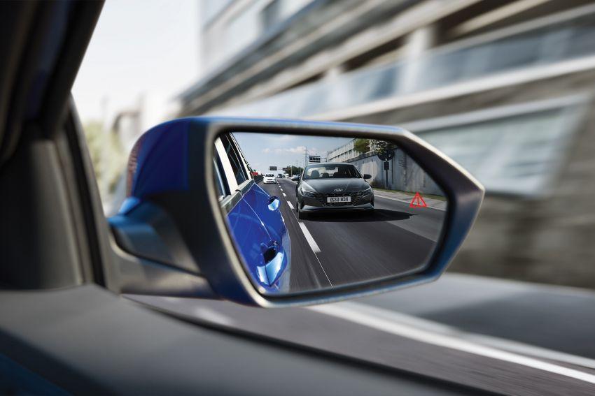 2021 Hyundai Elantra open for booking in Malaysia – 1.6L Smartstream engine, IVT; AEB, LKA, BSM, ACC Image #1218041